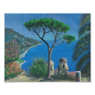 View over Capo D' Orso Sardinia Photo Print