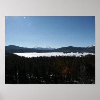 View over Lake Dillon 3 Poster