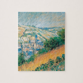 View over Vetheuil by Claude Monet Jigsaw Puzzle