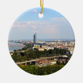 View Over Vienna Ceramic Ornament