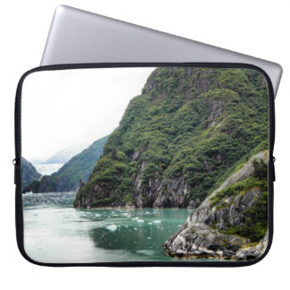 View Through a Fjord Laptop Sleeve