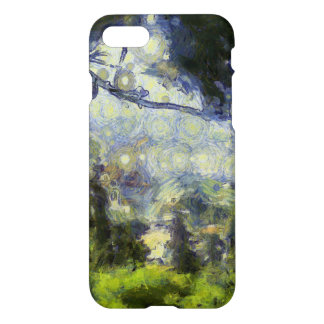 View through foliage iPhone 7 case