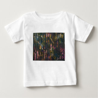 View through the dark forest baby T-Shirt
