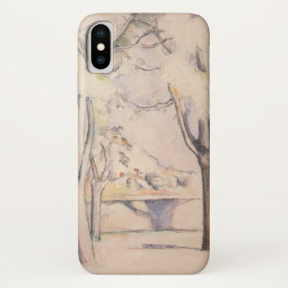 View Thru the Trees by Paul Cezanne, Vintage Art iPhone X Case