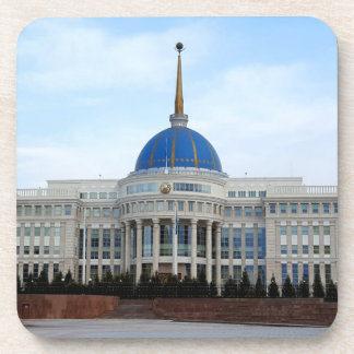 View to President palace in Astana in Kazakhstan Coaster