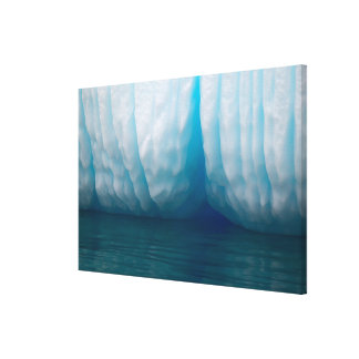 Viewing icebergs in blue in the Errera Channel Canvas Print