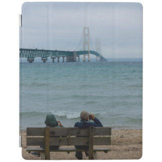 Viewing Mackinac Bridge iPad Cover