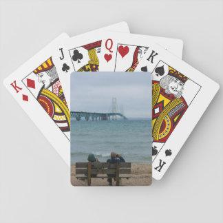 Viewing Mackinac Bridge Playing Cards