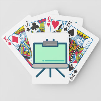 Viewing Screen Bicycle Playing Cards