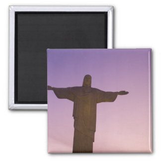 Viewpoint, Christ Statue at Corcovado, 704 Square Magnet