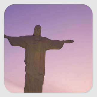 Viewpoint, Christ Statue at Corcovado, 704 Square Sticker