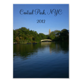 Views of Central Park 2012 - 2 Poster