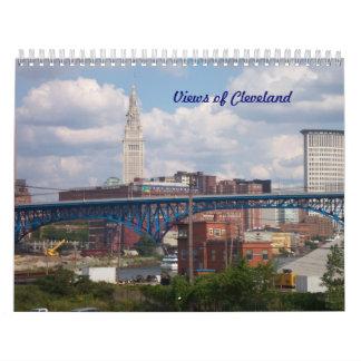 Views of Cleveland Calendar