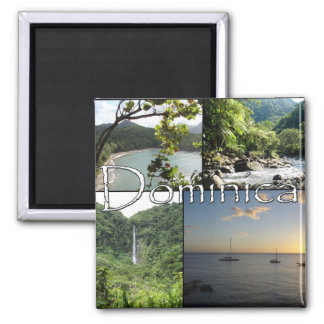 Views of Dominica magnet