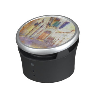 Views of Florence made in artistic watercolor Speaker