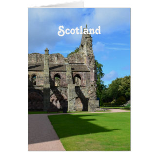 Views of Holyrood Abbey Card