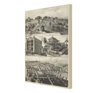 Views of Kansas City Kansas Gallery Wrap Canvas