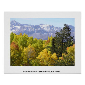 Views of the Rocky Mountains of Colorado Poster