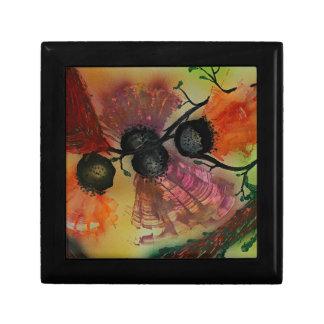 Vifteformede blomster gift box