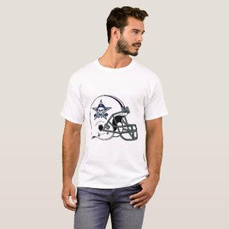 Vigilante Helmet on T Shirt