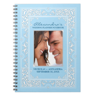 Vignette Bride's Wedding Planner Notebook (blue)