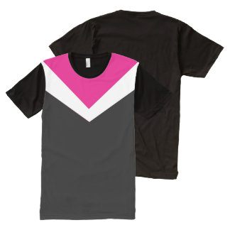 Vigore Vee Customizable Color All-Over-Print T-Shirt