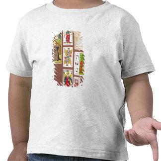 VIII justice, sept cartes de tarot T-shirt