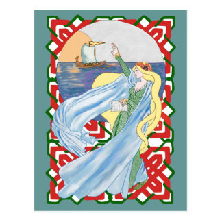 Viking Adieu Postcard