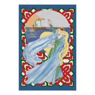 Viking Adieu Poster