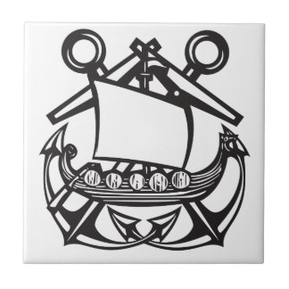 Viking Anchor Ceramic Tiles