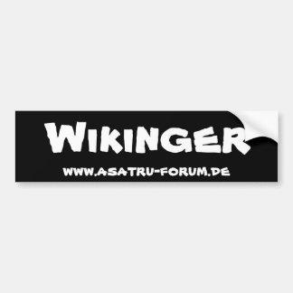 Viking - Asatru forum Bumper Sticker