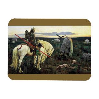 Viking at the Crossroad Rectangular Photo Magnet