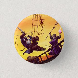 Viking Attack 1 Inch Round Button