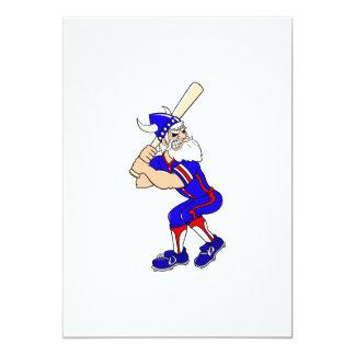 Viking Baseball Player Card