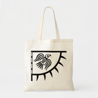 Viking Black Raven Banner Tote Bag