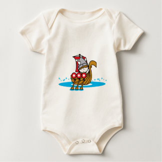 Viking Boy Baby Bodysuit