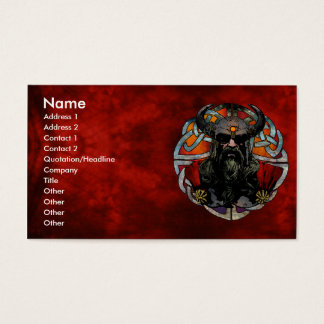 Viking Business Card