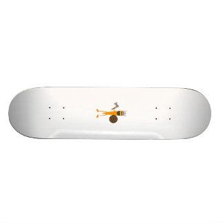 Viking carrot skate deck
