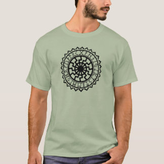 Viking Celtic Sun Rune Calendar T-Shirt