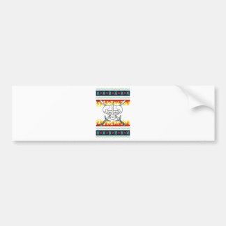 viking christmas bumper sticker