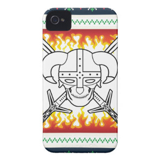 viking christmas Case-Mate iPhone 4 case