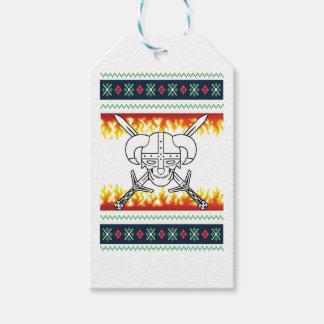 viking christmas gift tags