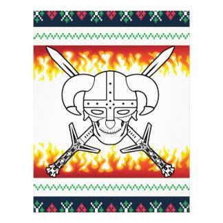 viking christmas letterhead