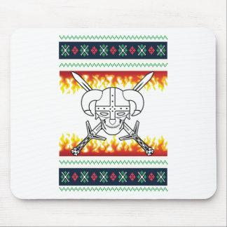 viking christmas mouse pad