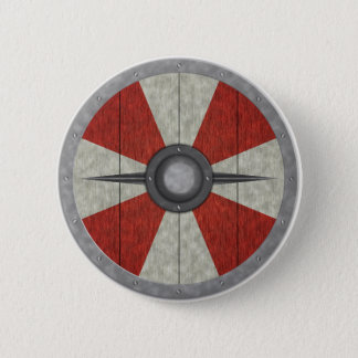 Viking Circle Shield 2 Inch Round Button