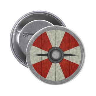 Viking Circle Shield 2 Inch Round Button