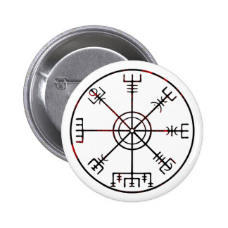 viking compass s6 poster 2 inch round button
