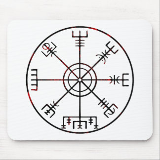 viking compass s6 poster mouse pad