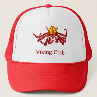 Viking crab trucker hat