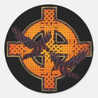 Viking Cross Sticker